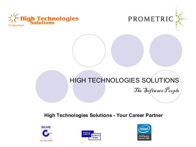 HIGH TECHNOLOGIES SOLUTIONSThe Software PeopleHigh Technologies Solutions - Your Career Partner