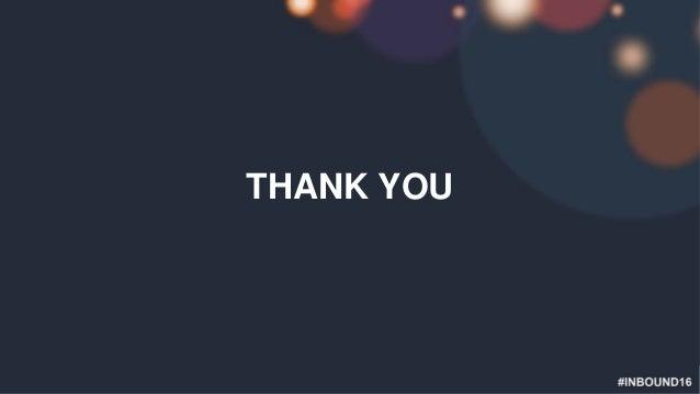 #INBOUND16 THANK YOU