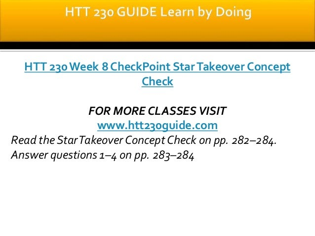htt 230 final hotel consultation View test prep - htt 230 week 9 final part 1 of 2 from htt 230 at suny buffalo may help increase business and overall profit hotel consultation review the final project scenario in appendix a develop a 1,400- htt 230 week 9 final part 2 of 2 1 pages.
