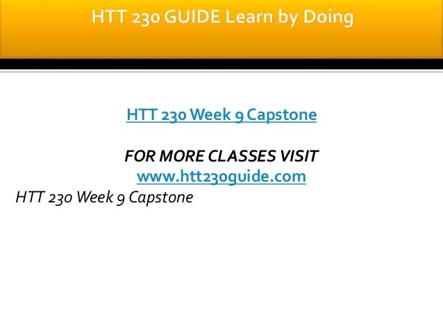 How to Write a Capstone Paper