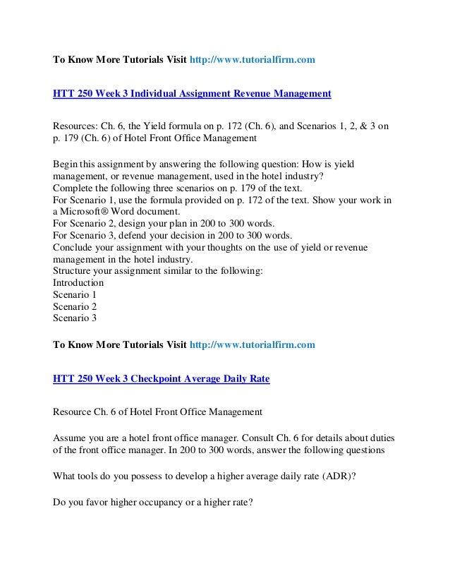 htt 250 week 3 assignment Htt 230 week 4 assignment:  htt 230 week 3 dqs htt 230 week 5 dqs  htt 250 uop course tutorial /htt250dotcom.