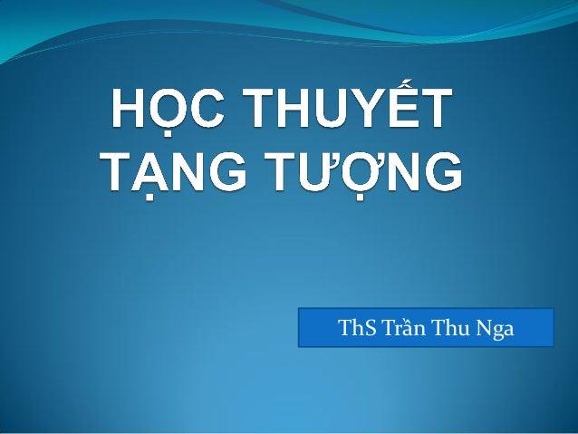 ThS Trần Thu Nga