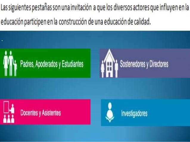 Conclusión La pagina descrita, si bien se enfoca en evaluar y orientar la educación desde la directiva y dentro del aula, ...