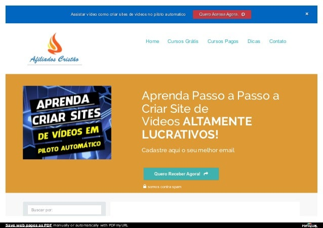 Assistar vídeo como criar sites de videos no piloto automaticoAssistar vídeo como criar sites de videos no piloto automati...
