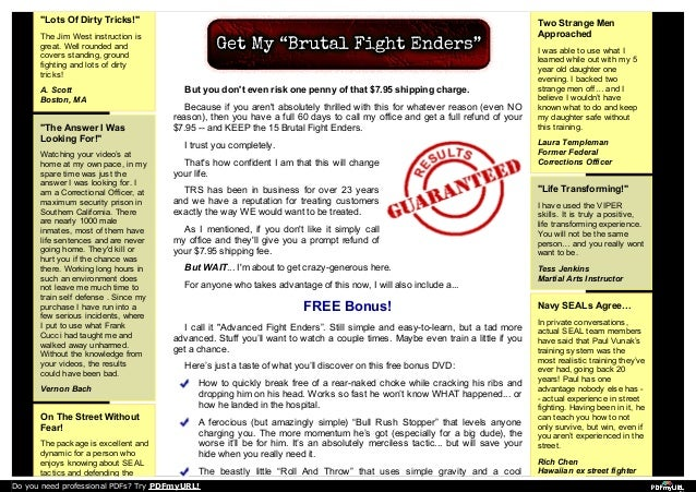 Protect yourself: Learn self defense - wdtv.com