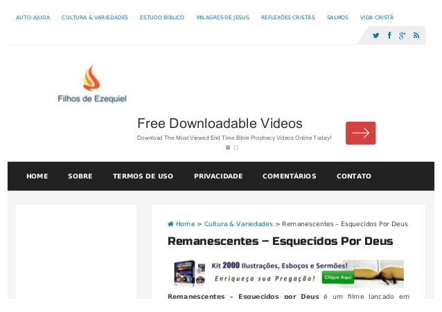 Remanescentes – Esquecidos por Deus é um filme lançado em  Home > Cultura & Variedades > Remanescentes – Esquecidos Por De...