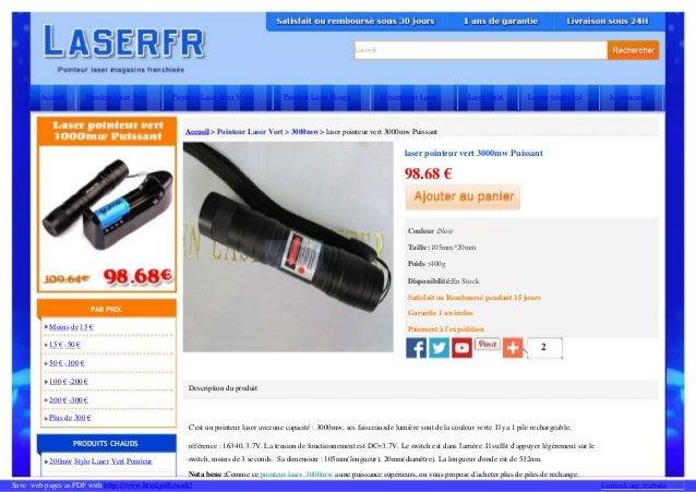 Laserfr Description du produit référence : 16340, 3.7V. La tension de fonctionnement est DC=3.7V. Le switch est dans l'arr...