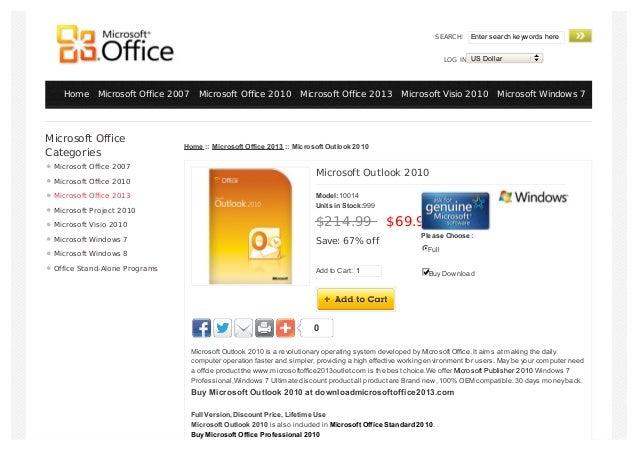 download outlook 2010 windows 7