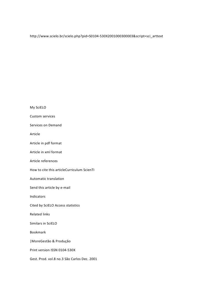 http://www.scielo.br/scielo.php?pid=S0104-530X2001000300003&script=sci_arttext<br />  <br />      <br /> <br />My SciELO<b...