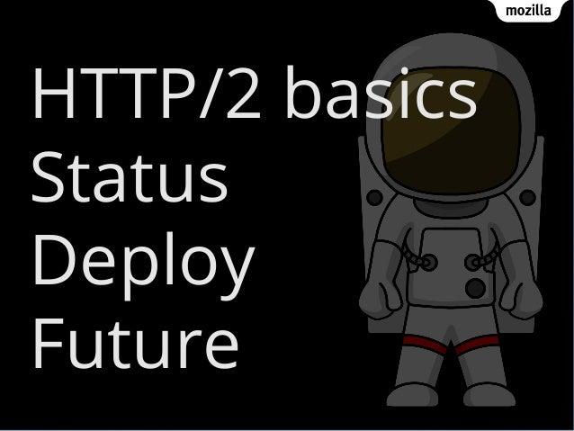 HTTP/2 basics Status Deploy Future