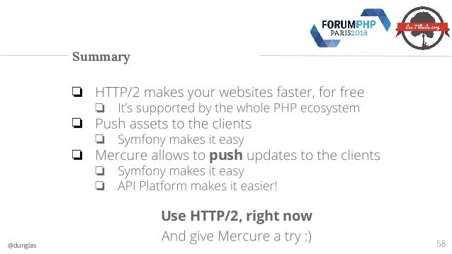 HTTP/2: speed up your apps and dispatch real time updates (Symfony an…