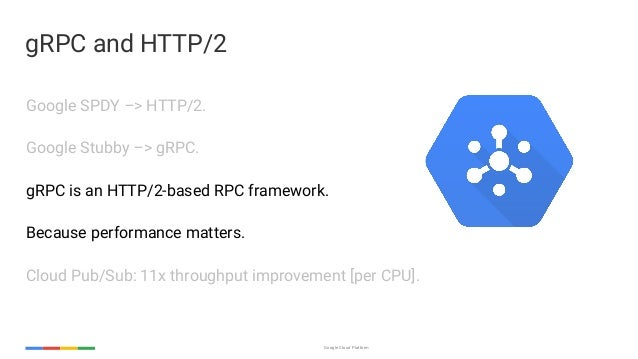 Enabling Googley microservices with HTTP/2 and gRPC