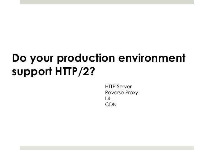 HTTP/2 to web dev