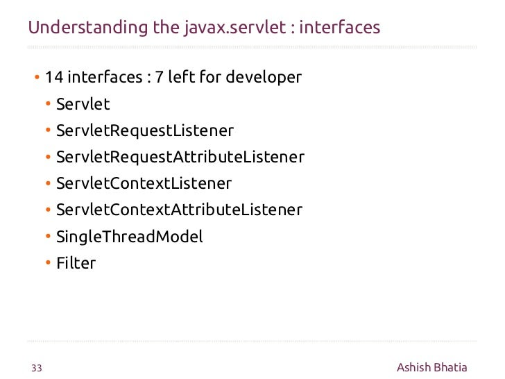 Java servlet singlethreadmodel