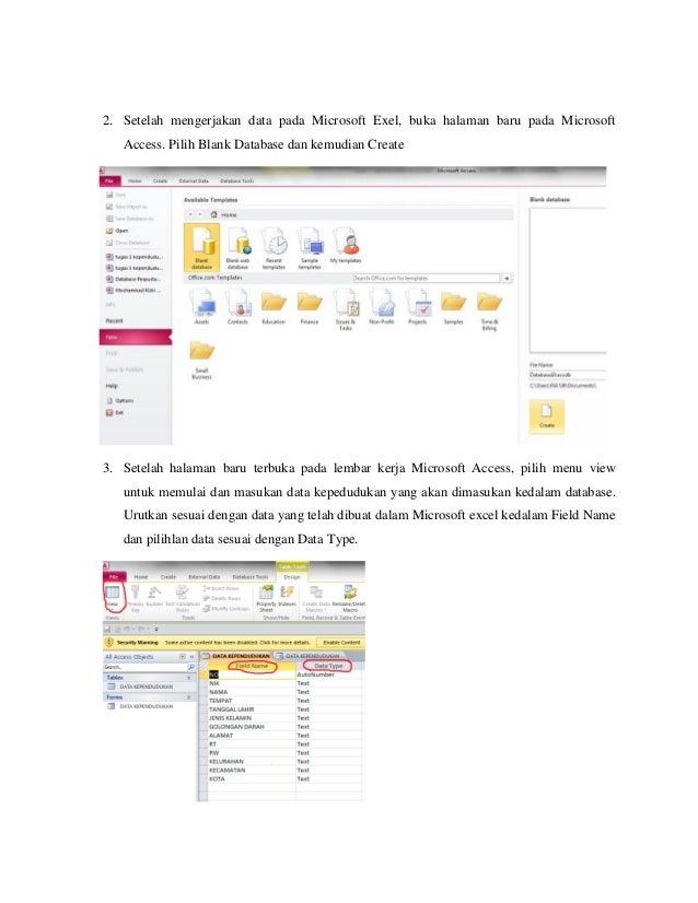 tutorial database (blog.ub.ac.id/oliviadia/)