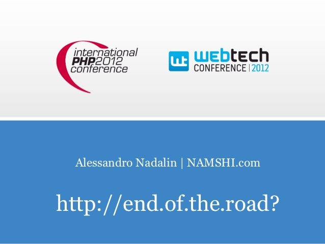 Alessandro Nadalin | NAMSHI.comhttp://end.of.the.road?