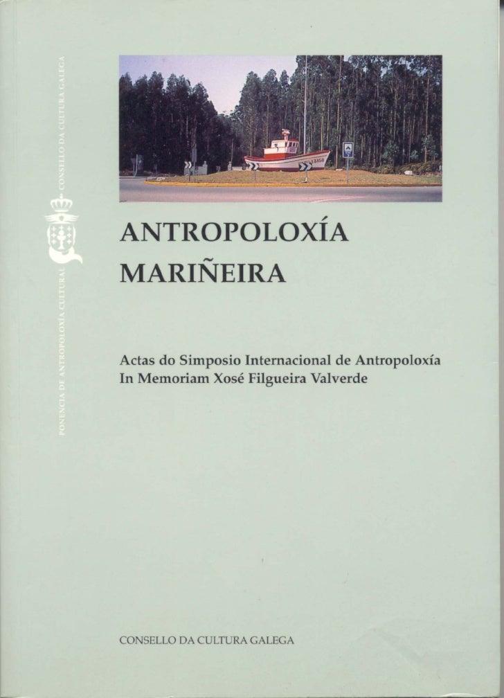ANTROPOLOXÍA MARIÑEIRA
