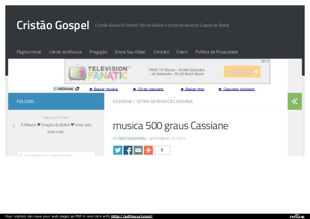 CORINHO GOSPEL BAIXAR FOGO