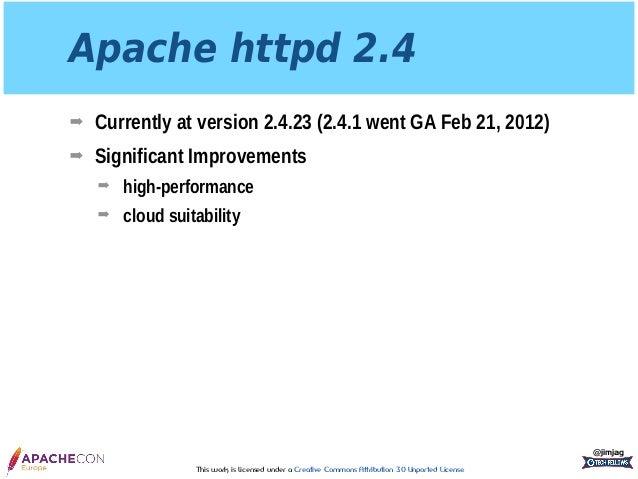 Apache httpd 2.4 Reverse Proxy: The Hidden Gem Slide 3