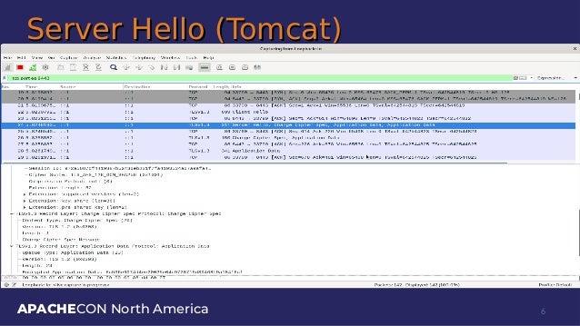 APACHECON North America Server Hello (Tomcat)Server Hello (Tomcat) 6