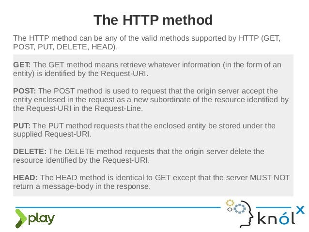 Http programming in play