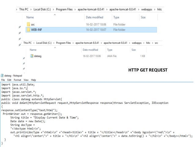 Http request and http response