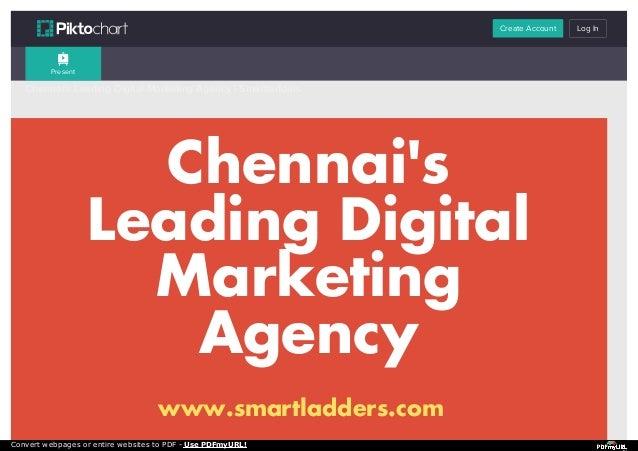 Digital Marketing Agency Chennai - Smartladders