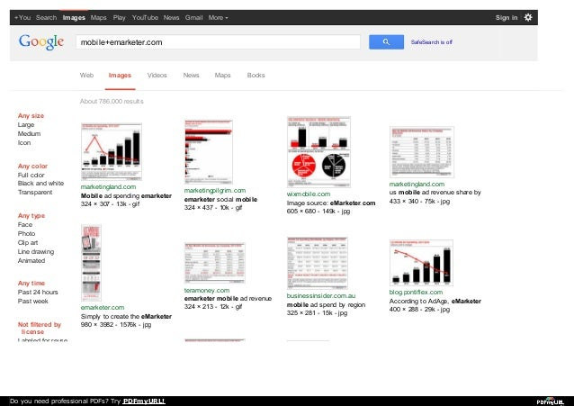 +You Search Images Maps Play YouTube News Gmail More  Sign in  mobile+emarketer.com  Web  Images  Videos  SafeSearch is of...