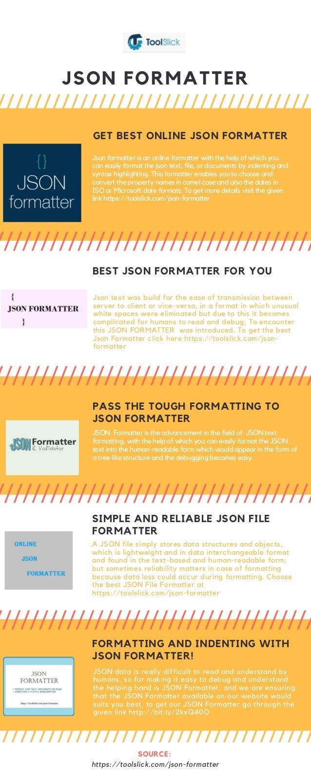 Best json formatter keeps you updated!