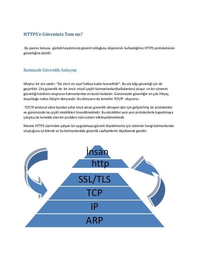 HTTPS'e Güveniniz Tam mı? Bu yazının konusu günlük hayatımızda güvenli olduğunu düşünerek kullandığımız HTTPS protokolünün...