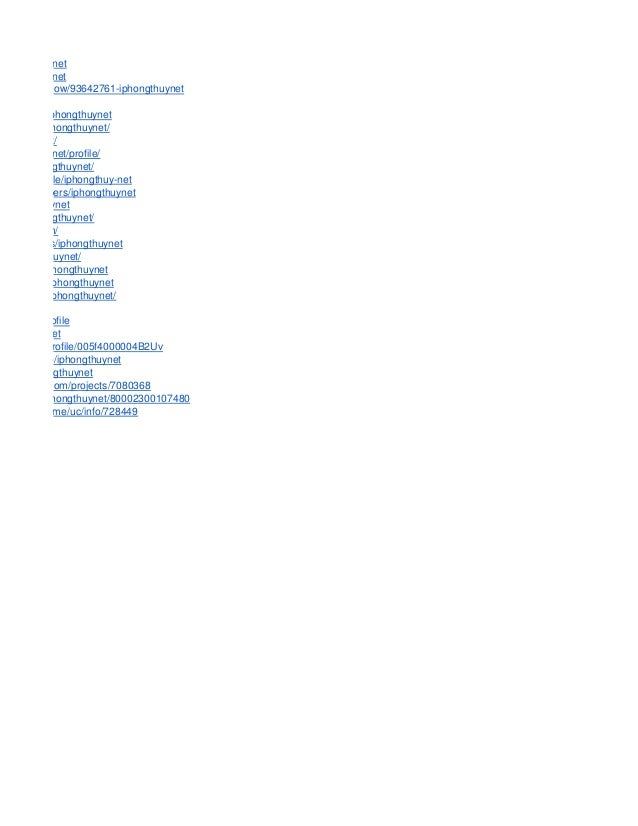 /iphongthuynet @iphongthuynet com/user/show/93642761-iphongthuynet om/profile/iphongthuynet m/author/iphongthuynet/ hongth...