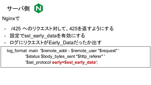 "動作確認 簡易的な構成で実験する Client Origin https://asnokaze.com/ https://asnokaze.com/425 10.123.xxx.xxx - - ""GET / HTTP/1.1""200 323 ""..."