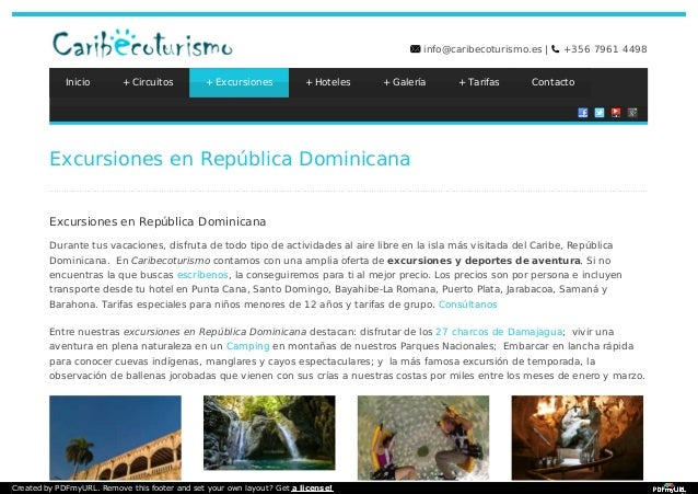 Private tours in Dominican Republic