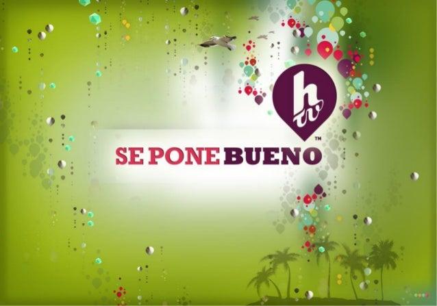CUENTA CON 3 ESTACIONES DE MÚSICA ESPECIALMENTE SELECCIONADA POR HTV, ADEMÁS DE NOTICIAS, LA PROGRAMACIÓN DEL CANALY LOS C...