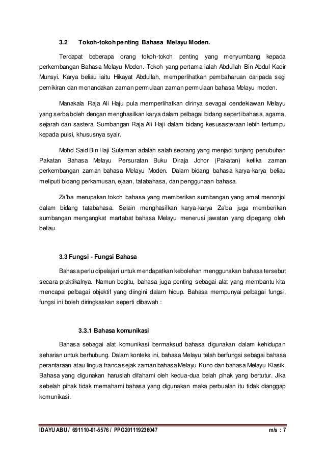 Tugasan Bmm 3112 Perkembangan Bahasa Melayu
