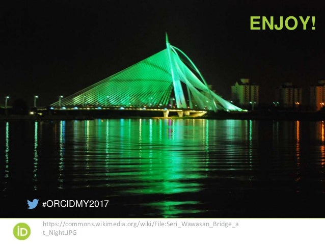 Introduction and Welcome to the 2017 ORCID Malaysia Workshop (N. Miyairi)