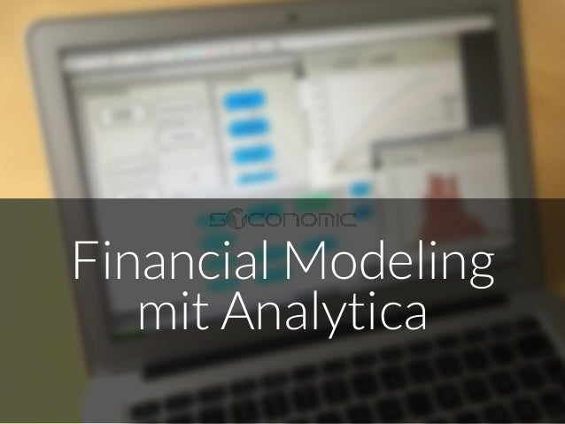 Financial Modeling  mit Analytica