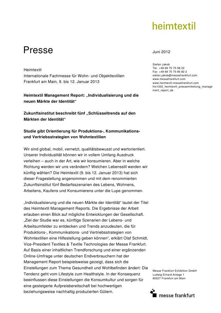 Presse                                                                     Juni 2012                                      ...