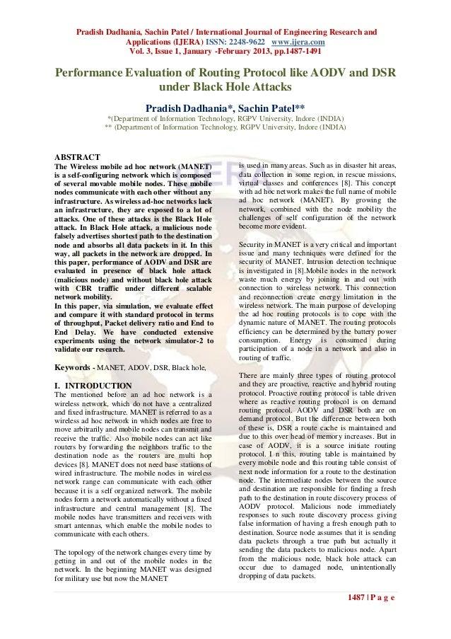 Pradish Dadhania, Sachin Patel / International Journal of Engineering Research and                   Applications (IJERA) ...