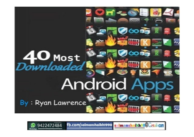45 android applications