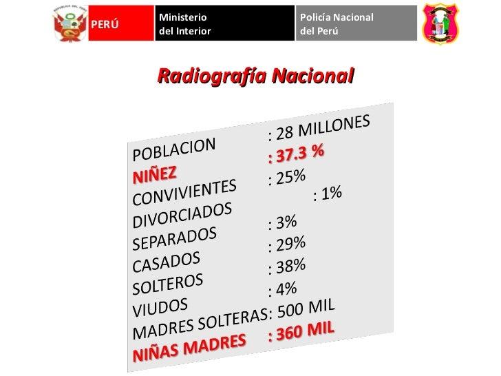 Huaraz anexo 2011 for Ministerio del interior peru