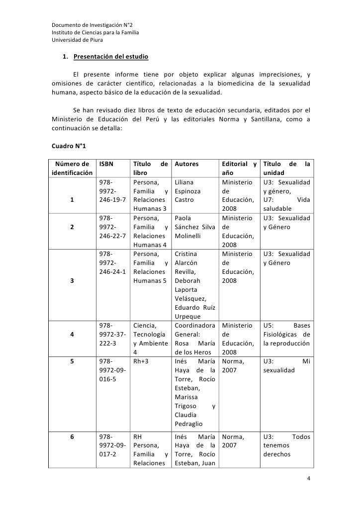 DocumentodeInvestigaciónN°2InstitutodeCienciasparalaFamiliaUniversidaddePiura    1. Presentacióndelestudio...