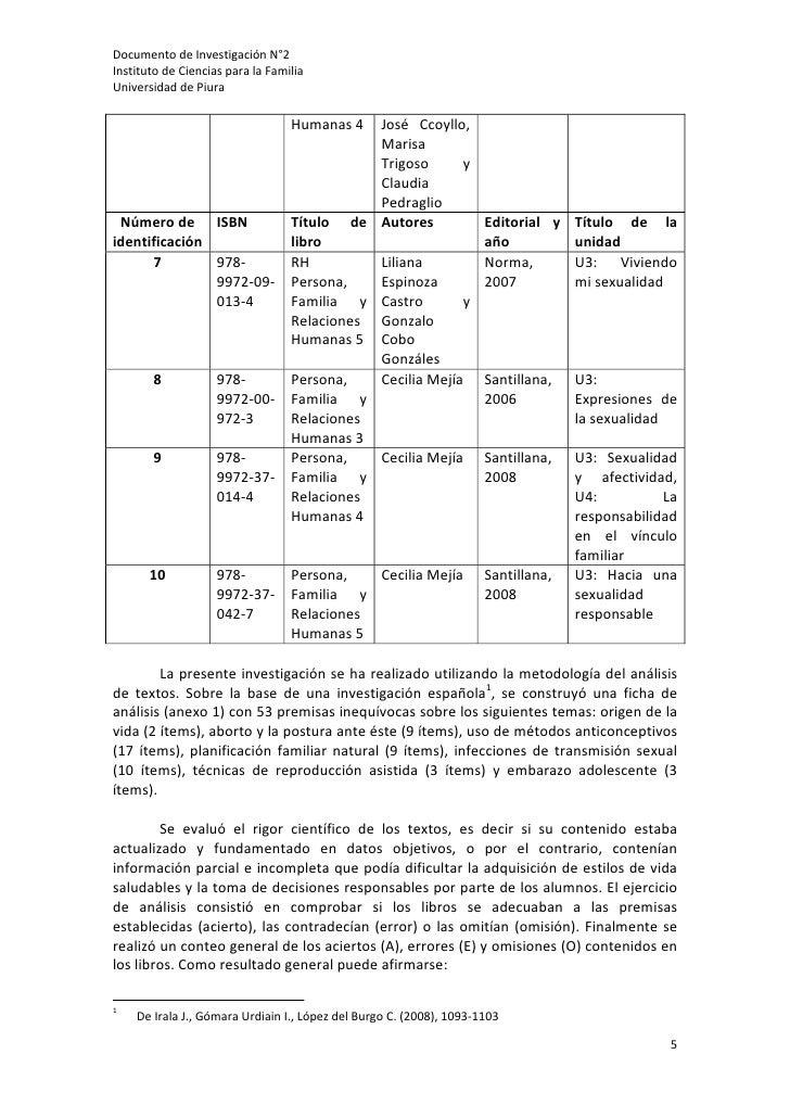DocumentodeInvestigaciónN°2InstitutodeCienciasparalaFamiliaUniversidaddePiura                                ...