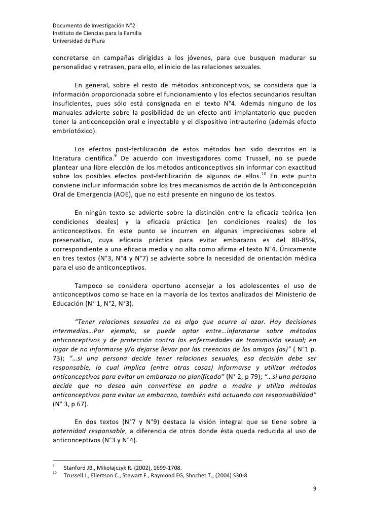 DocumentodeInvestigaciónN°2InstitutodeCienciasparalaFamiliaUniversidaddePiuraconcretarse en campañas dirig...