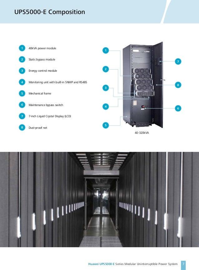 Huawei Modular UPS Systems UPS5000E Sereis