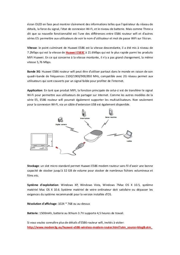 écran OLED en face peut montrer clairement des informations telles que lopérateur du réseau dedétails, la force du signal,...