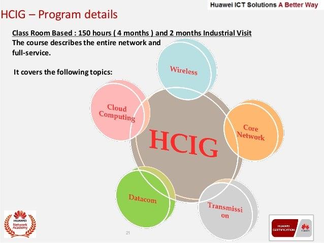 Huawei 6 Month Industrail Training Program