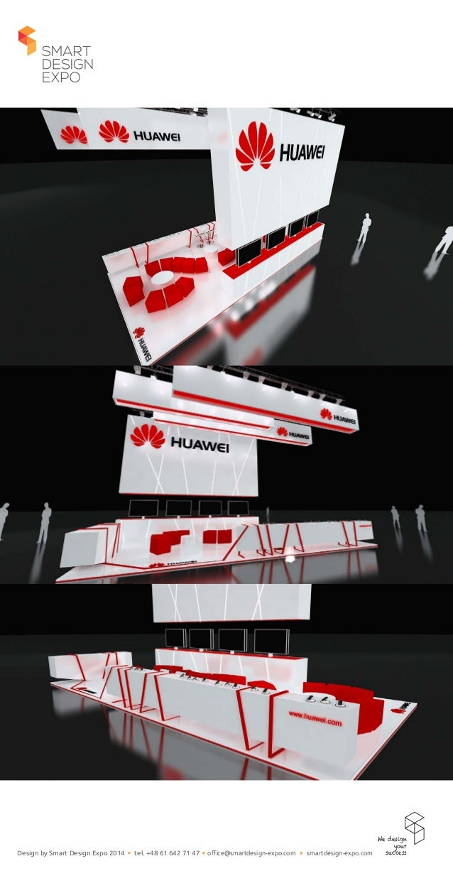 Exhibition Stand Projects : Exhibition stand project for huawei by smart design expo