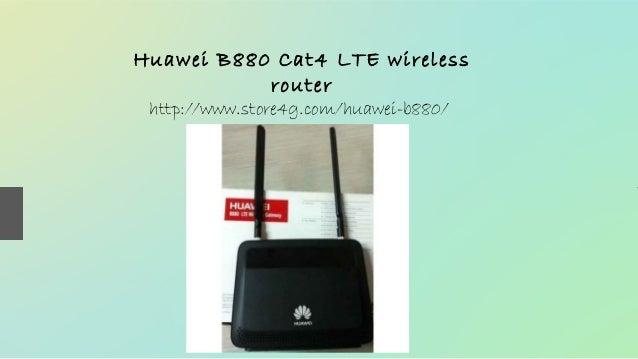 Huawei B880 Cat4 LTE wireless router http://www.store4g.com/huawei-b880/