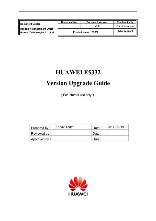 Huawei e5332 v200 r001b344d27sp00c1080 upgrade guide